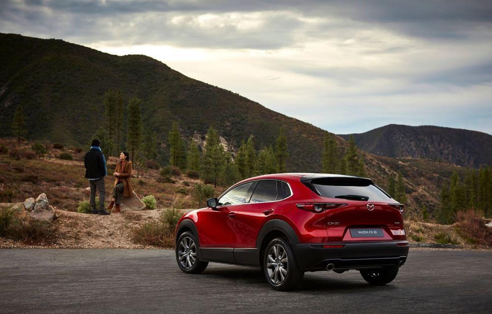 """Mașinile din """"Aventour la feminin"""": Mazda CX-30 ediție aniversară, un SUV pentru 100 de ani de precizie japoneză - Poza 6"""
