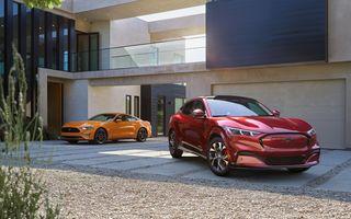În primele 5 luni ale anului, Ford a produs mai multe exemplare Mustang Mach-E decât Mustang