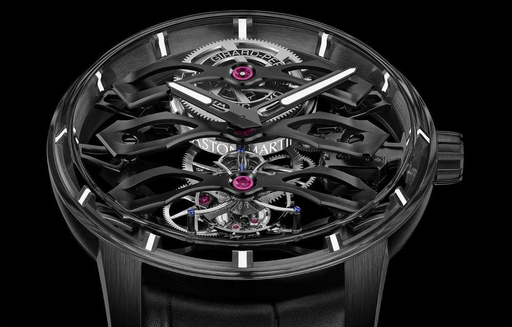 Aston Martin și orologierul Girard-Perregaux dau naștere unui ceas care costă 146.000 de dolari - Poza 9
