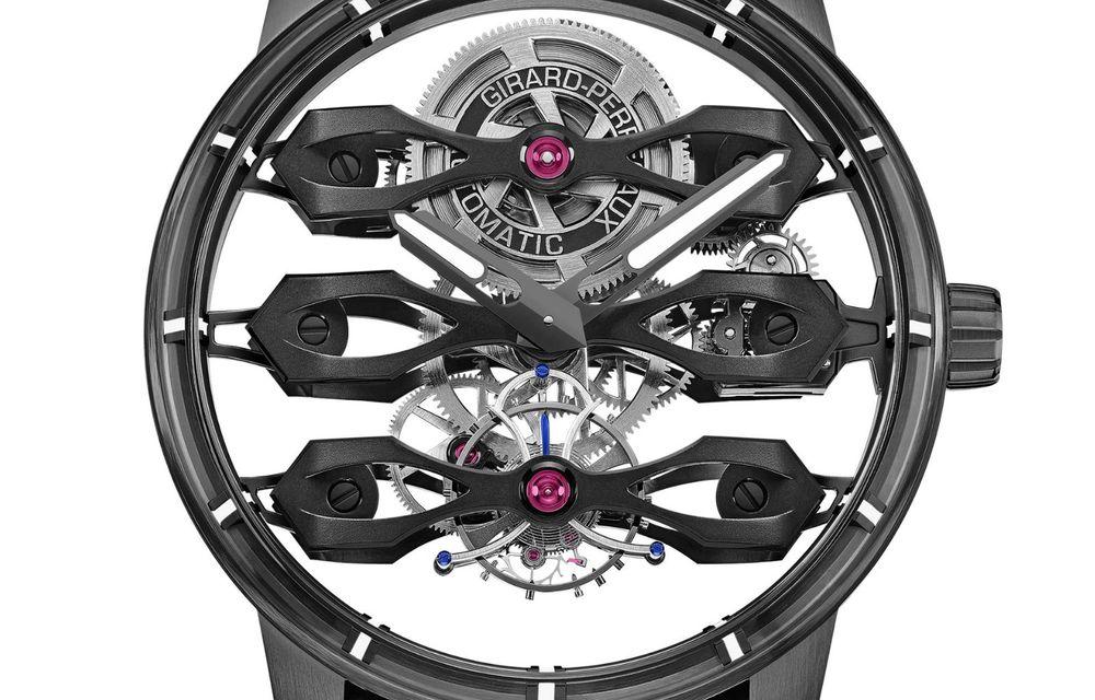 Aston Martin și orologierul Girard-Perregaux dau naștere unui ceas care costă 146.000 de dolari - Poza 14