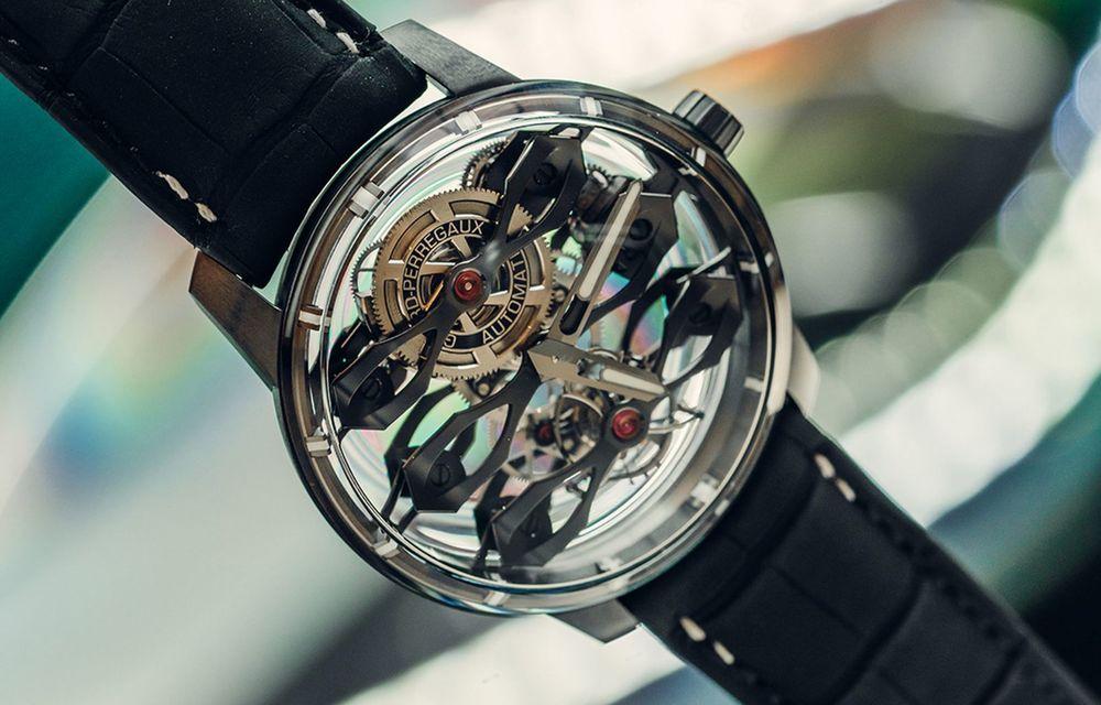 Aston Martin și orologierul Girard-Perregaux dau naștere unui ceas care costă 146.000 de dolari - Poza 5