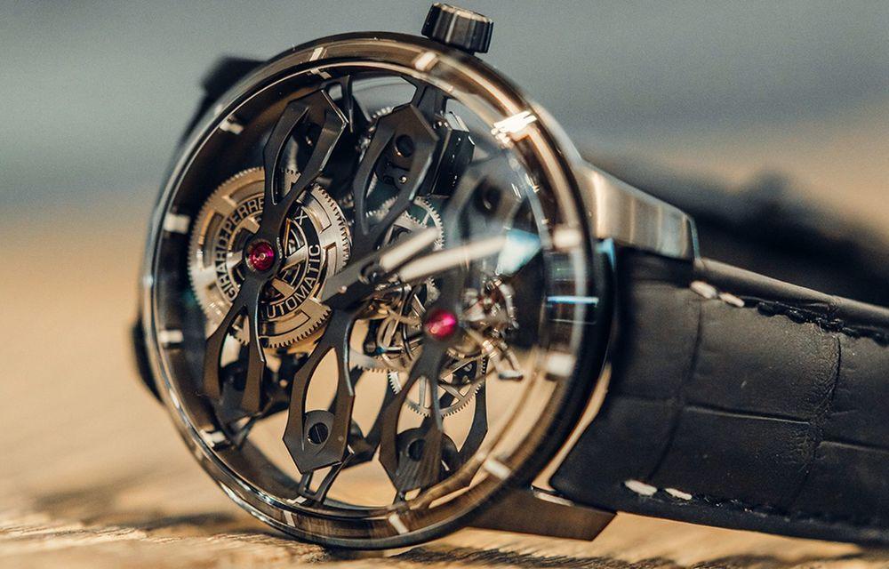 Aston Martin și orologierul Girard-Perregaux dau naștere unui ceas care costă 146.000 de dolari - Poza 1