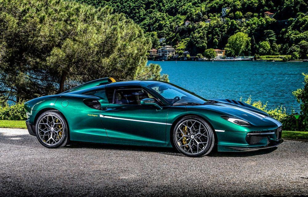 Touring Arese RH95: modelul are la bază un supercar Ferrari, iar motorul V8 dezvoltă 670 CP - Poza 1