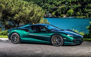 Touring Arese RH95: modelul are la bază un supercar Ferrari, iar motorul V8 dezvoltă 670 CP