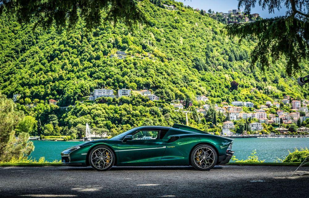 Touring Arese RH95: modelul are la bază un supercar Ferrari, iar motorul V8 dezvoltă 670 CP - Poza 2