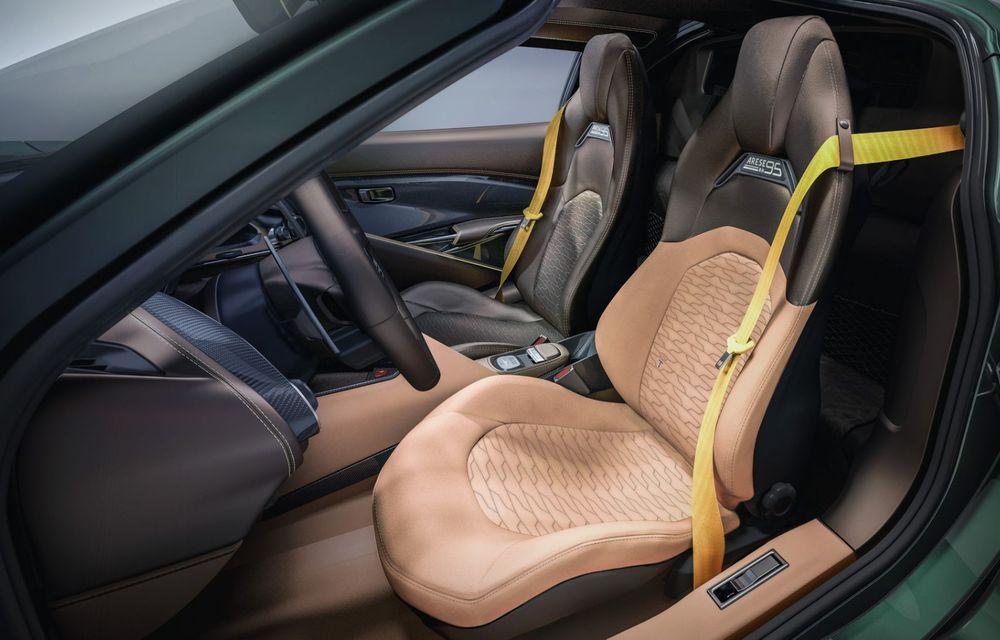 Touring Arese RH95: modelul are la bază un supercar Ferrari, iar motorul V8 dezvoltă 670 CP - Poza 13