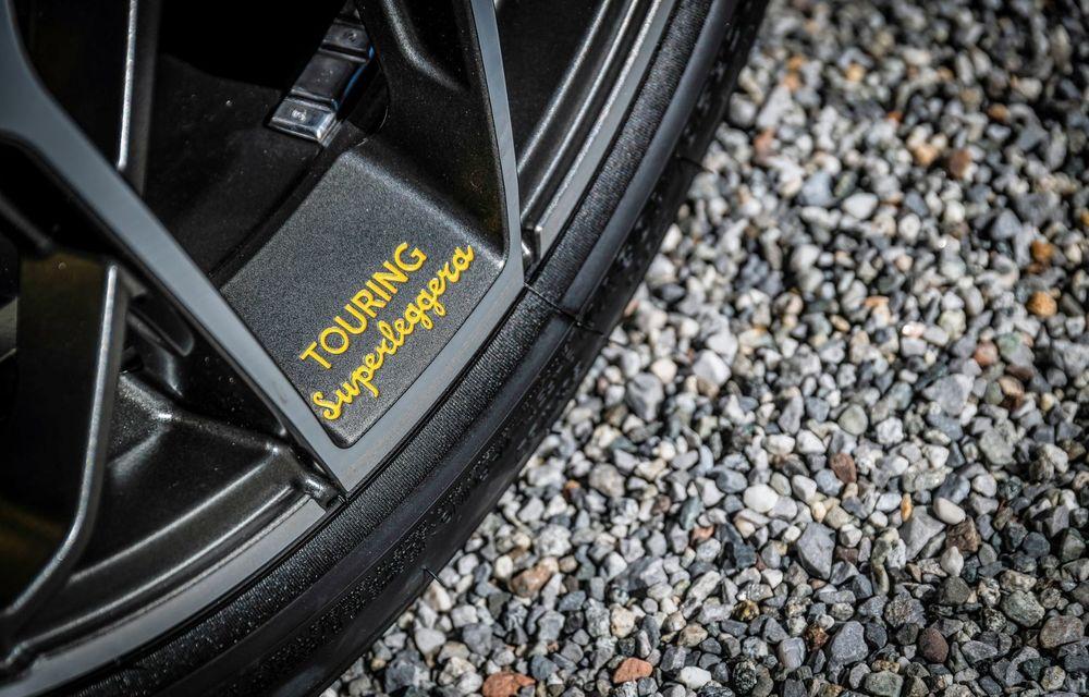 Touring Arese RH95: modelul are la bază un supercar Ferrari, iar motorul V8 dezvoltă 670 CP - Poza 24