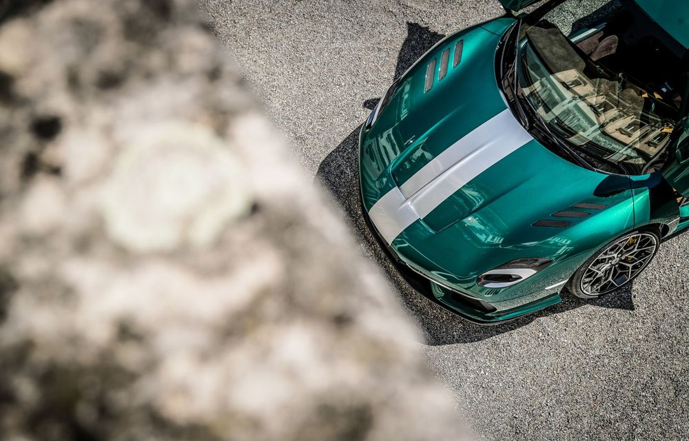 Touring Arese RH95: modelul are la bază un supercar Ferrari, iar motorul V8 dezvoltă 670 CP - Poza 17