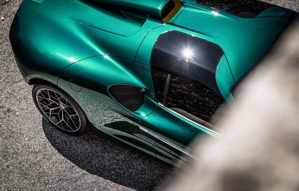 Touring Arese RH95: modelul are la bază un supercar Ferrari, iar motorul V8 dezvoltă 670 CP - Poza 19