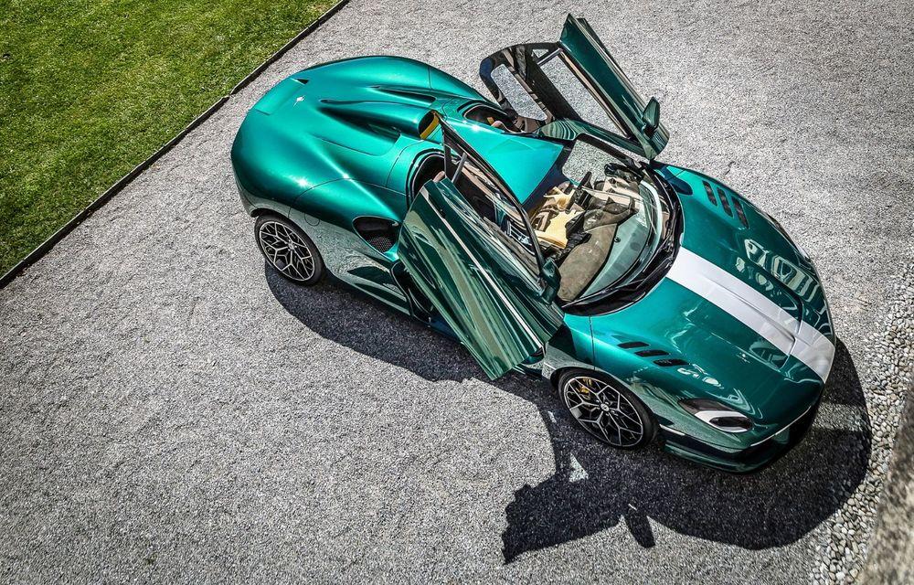Touring Arese RH95: modelul are la bază un supercar Ferrari, iar motorul V8 dezvoltă 670 CP - Poza 7