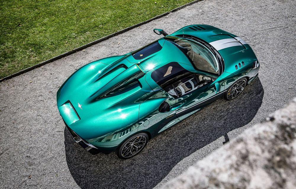 Touring Arese RH95: modelul are la bază un supercar Ferrari, iar motorul V8 dezvoltă 670 CP - Poza 4