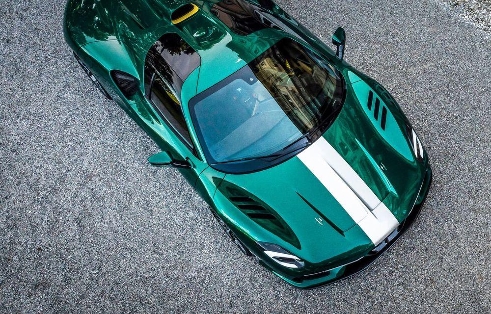 Touring Arese RH95: modelul are la bază un supercar Ferrari, iar motorul V8 dezvoltă 670 CP - Poza 6