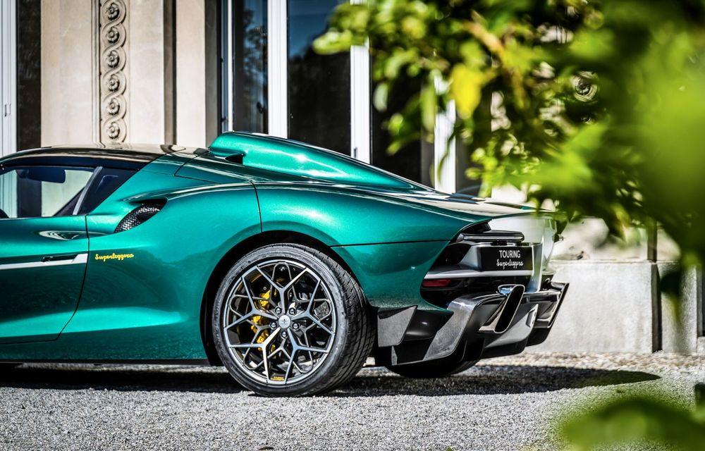 Touring Arese RH95: modelul are la bază un supercar Ferrari, iar motorul V8 dezvoltă 670 CP - Poza 18