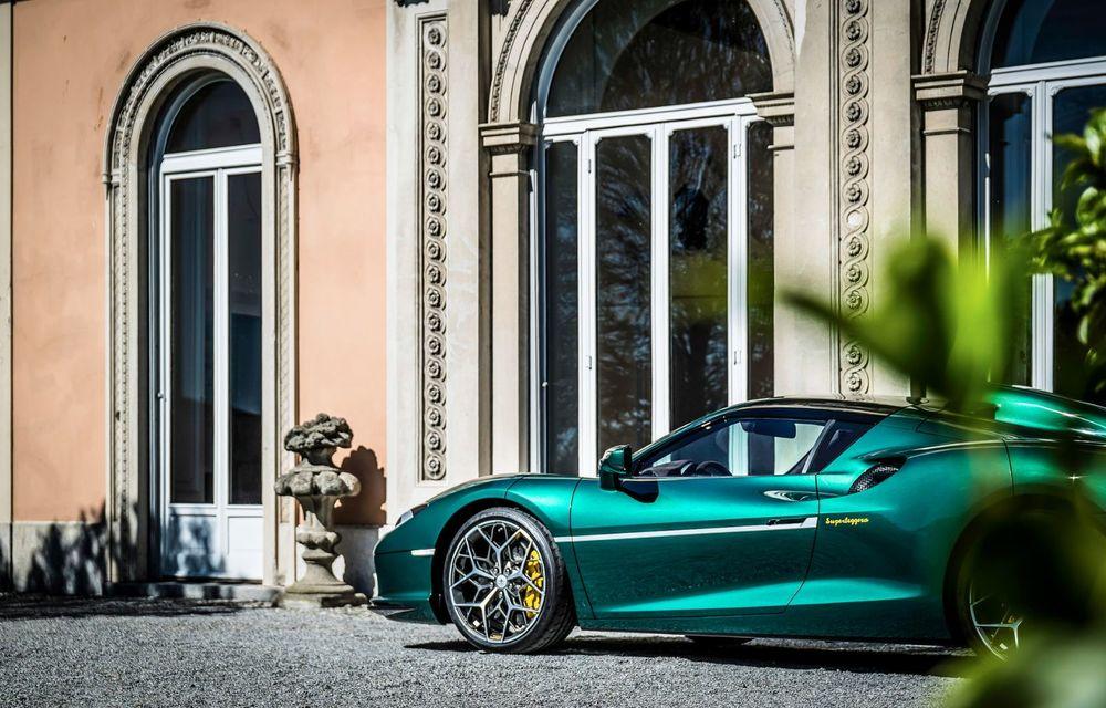 Touring Arese RH95: modelul are la bază un supercar Ferrari, iar motorul V8 dezvoltă 670 CP - Poza 5