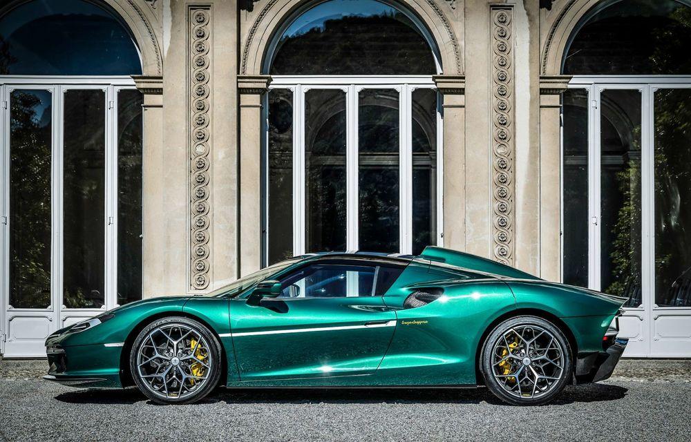 Touring Arese RH95: modelul are la bază un supercar Ferrari, iar motorul V8 dezvoltă 670 CP - Poza 8