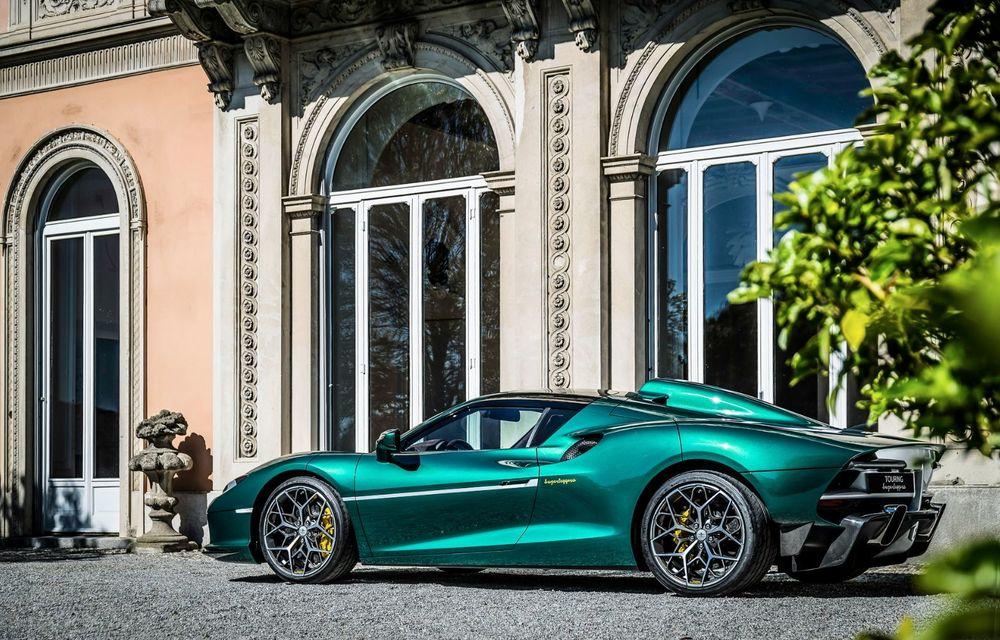 Touring Arese RH95: modelul are la bază un supercar Ferrari, iar motorul V8 dezvoltă 670 CP - Poza 9