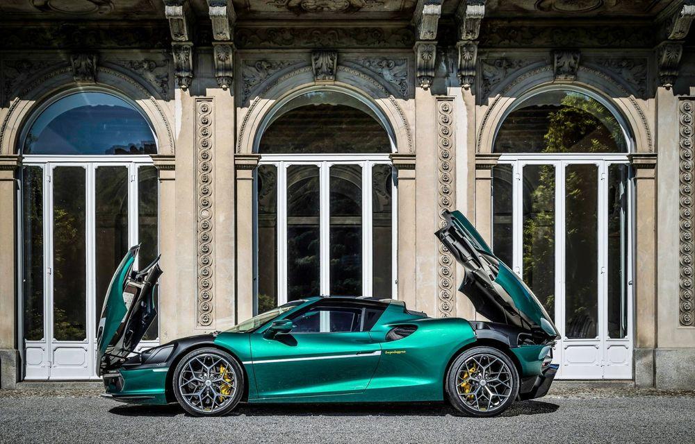 Touring Arese RH95: modelul are la bază un supercar Ferrari, iar motorul V8 dezvoltă 670 CP - Poza 10