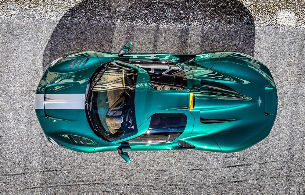 Touring Arese RH95: modelul are la bază un supercar Ferrari, iar motorul V8 dezvoltă 670 CP - Poza 11