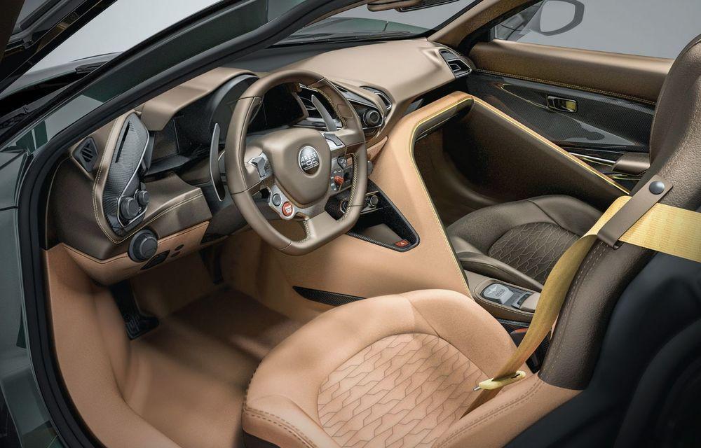 Touring Arese RH95: modelul are la bază un supercar Ferrari, iar motorul V8 dezvoltă 670 CP - Poza 12