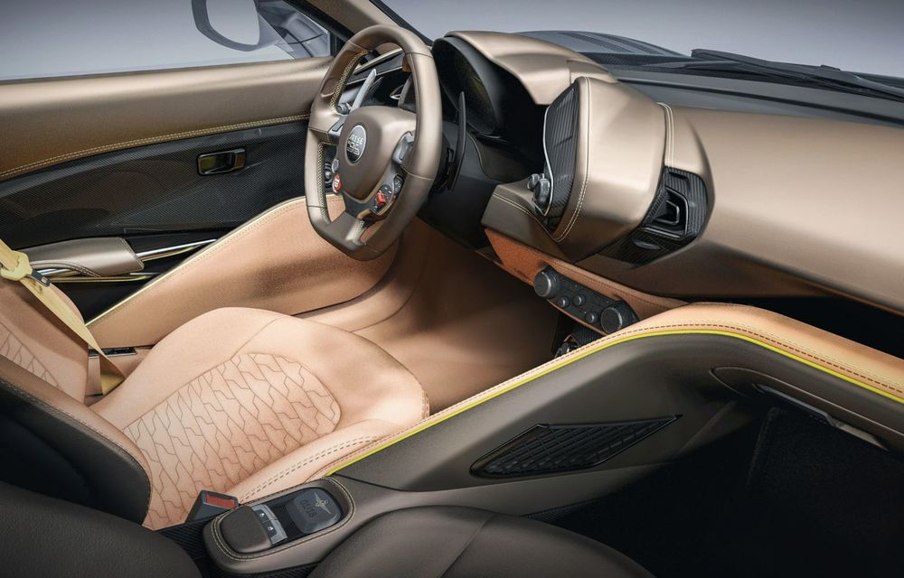 Touring Arese RH95: modelul are la bază un supercar Ferrari, iar motorul V8 dezvoltă 670 CP - Poza 14