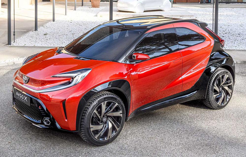 Versiunea de serie a conceptului Toyota Aygo X Prologue va fi produsă în Cehia - Poza 1