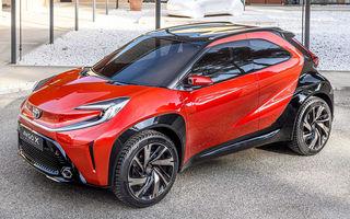 Versiunea de serie a conceptului Toyota Aygo X Prologue va fi produsă în Cehia