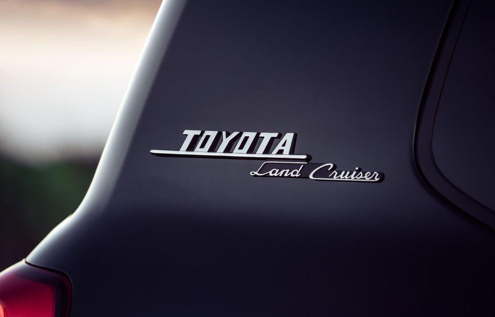 Toyota publică un nou teaser cu viitorul Land Cruiser: platformă nouă și, în premieră, versiune GR Sport - Poza 1
