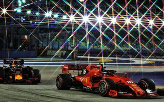O nouă modificare în calendarul Formulei 1: etapa din Singapore a fost anulată