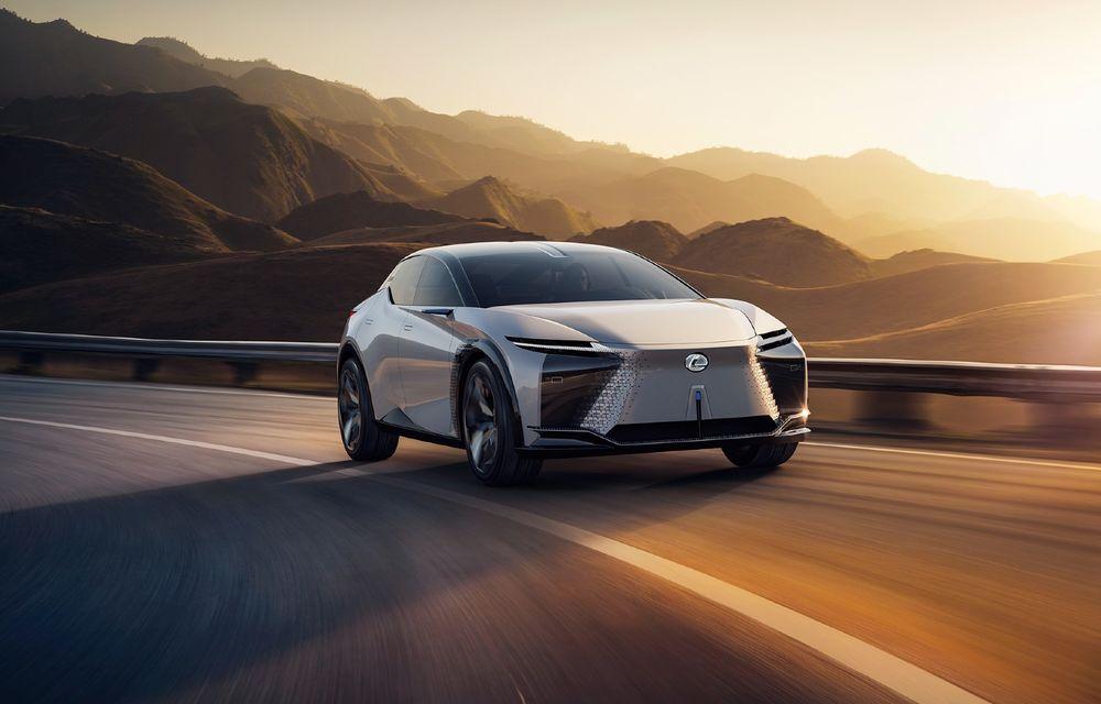 Un model de serie, bazat pe conceptul Lexus LF-Z Electrified va fi lansat în următoarele 14 luni - Poza 1