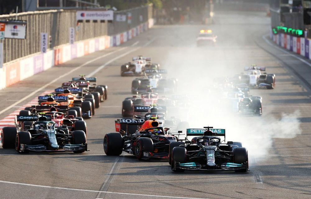 Sergio Perez câștigă pe circuitul stradal din Baku. Vettel și Gasly pe podium - Poza 5