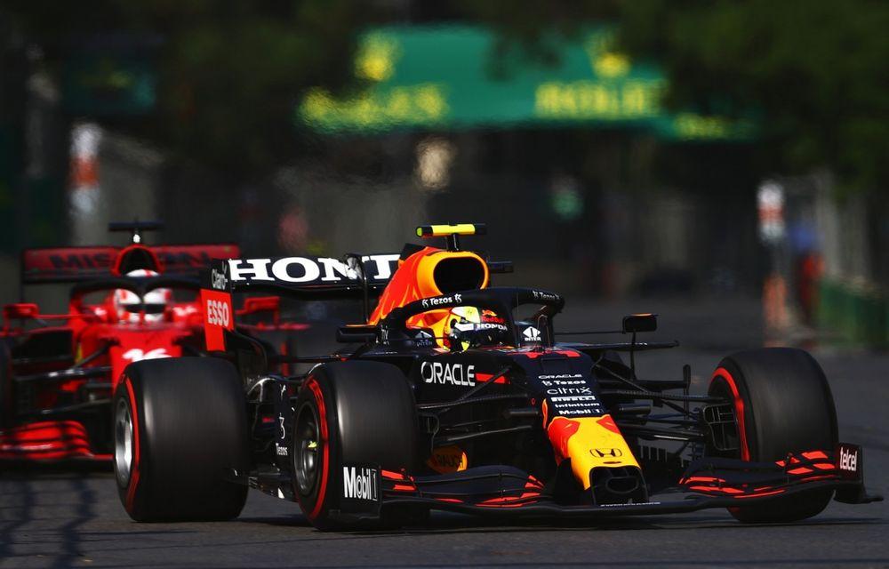 Sergio Perez câștigă pe circuitul stradal din Baku. Vettel și Gasly pe podium - Poza 1