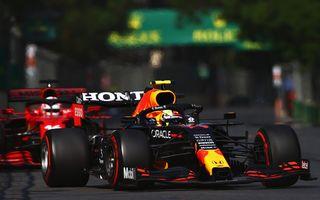 Sergio Perez câștigă pe circuitul stradal din Baku. Vettel și Gasly pe podium