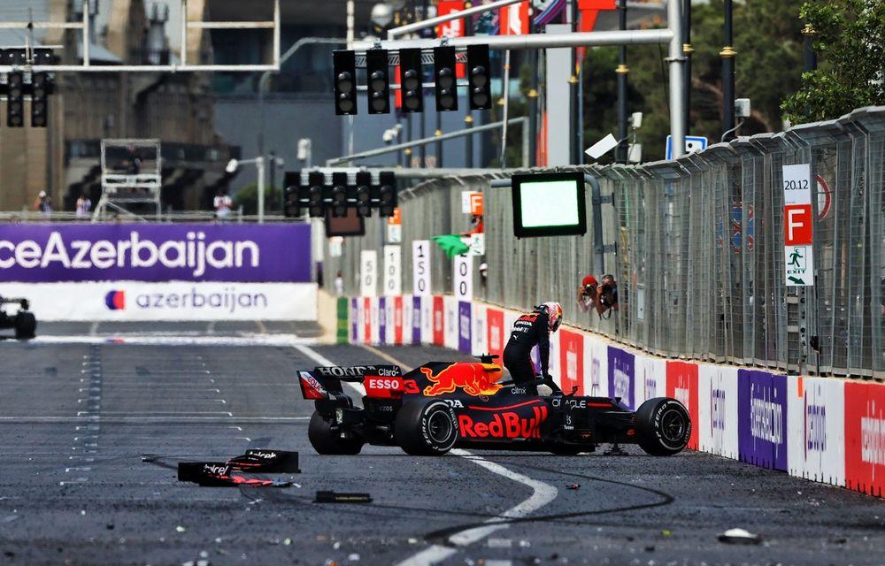Sergio Perez câștigă pe circuitul stradal din Baku. Vettel și Gasly pe podium - Poza 4