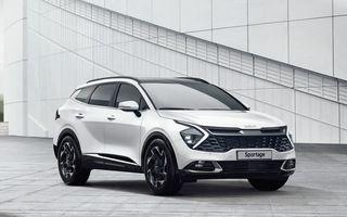 OFICIAL: Noua Kia Sportage debutează cu design exterior îndrăzneț și interior care preia tehnologia lui EV6