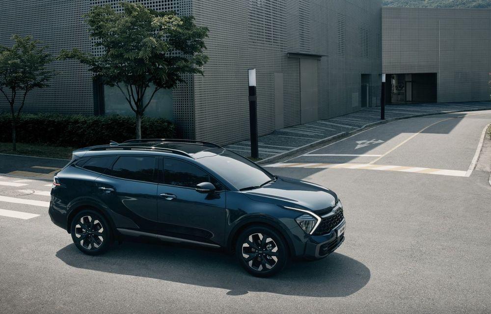 OFICIAL: Noua Kia Sportage debutează cu design exterior îndrăzneț și interior care preia tehnologia lui EV6 - Poza 3