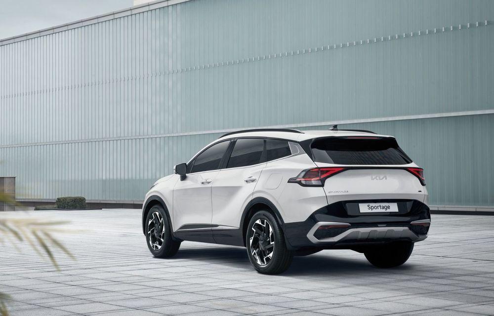 OFICIAL: Noua Kia Sportage debutează cu design exterior îndrăzneț și interior care preia tehnologia lui EV6 - Poza 4