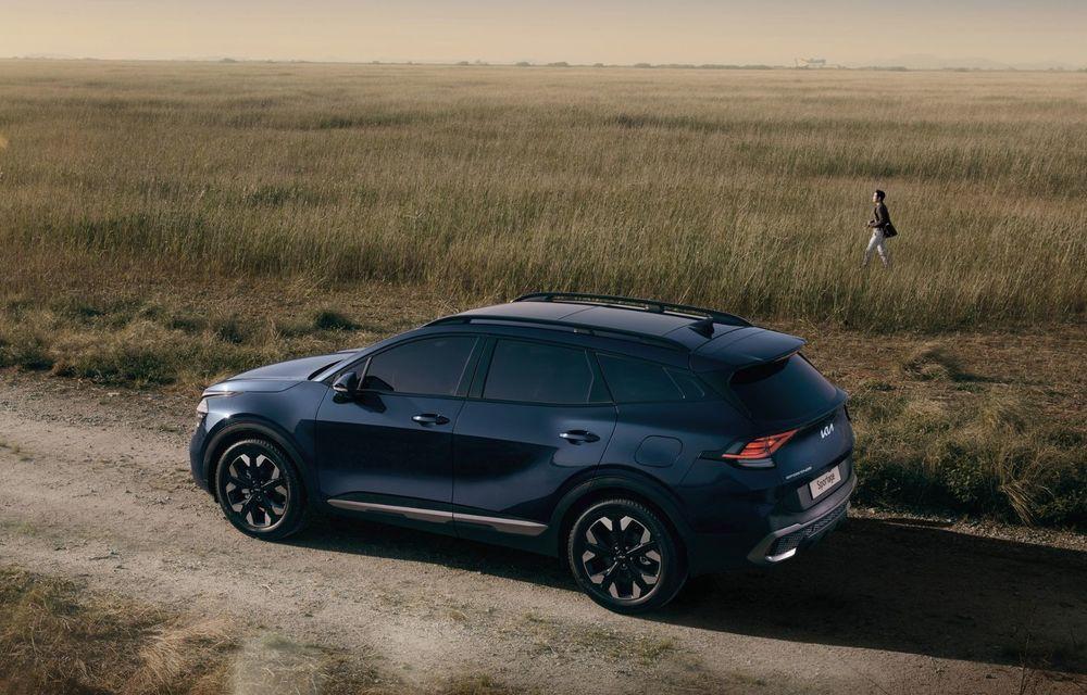 OFICIAL: Noua Kia Sportage debutează cu design exterior îndrăzneț și interior care preia tehnologia lui EV6 - Poza 5