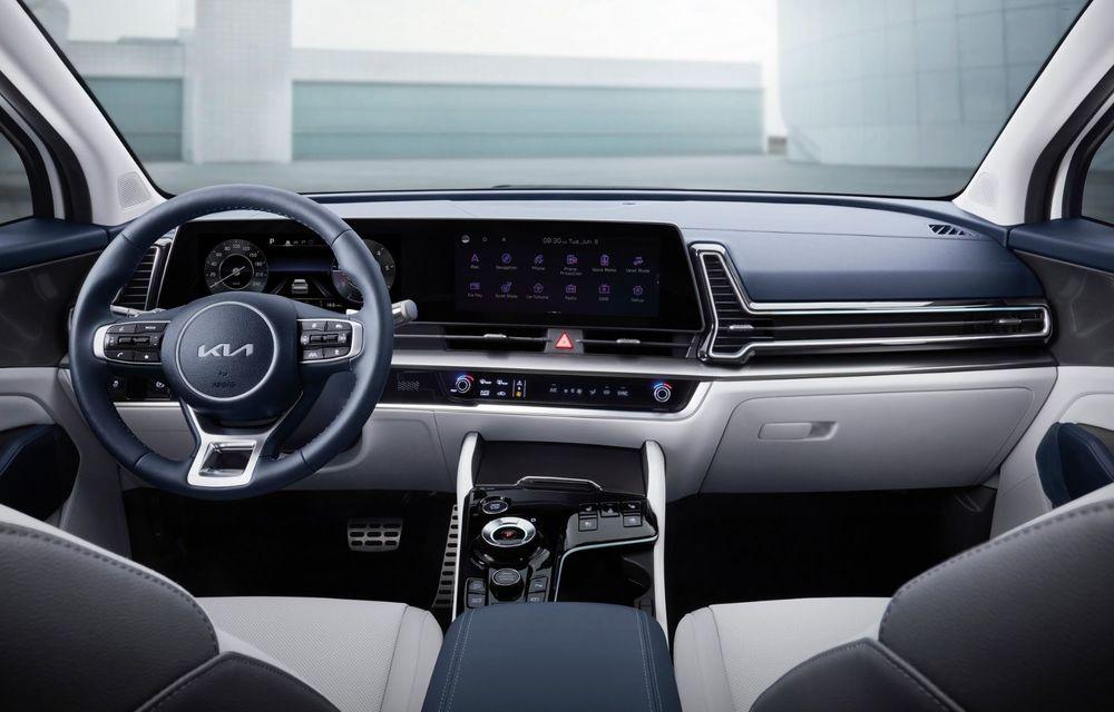 OFICIAL: Noua Kia Sportage debutează cu design exterior îndrăzneț și interior care preia tehnologia lui EV6 - Poza 6