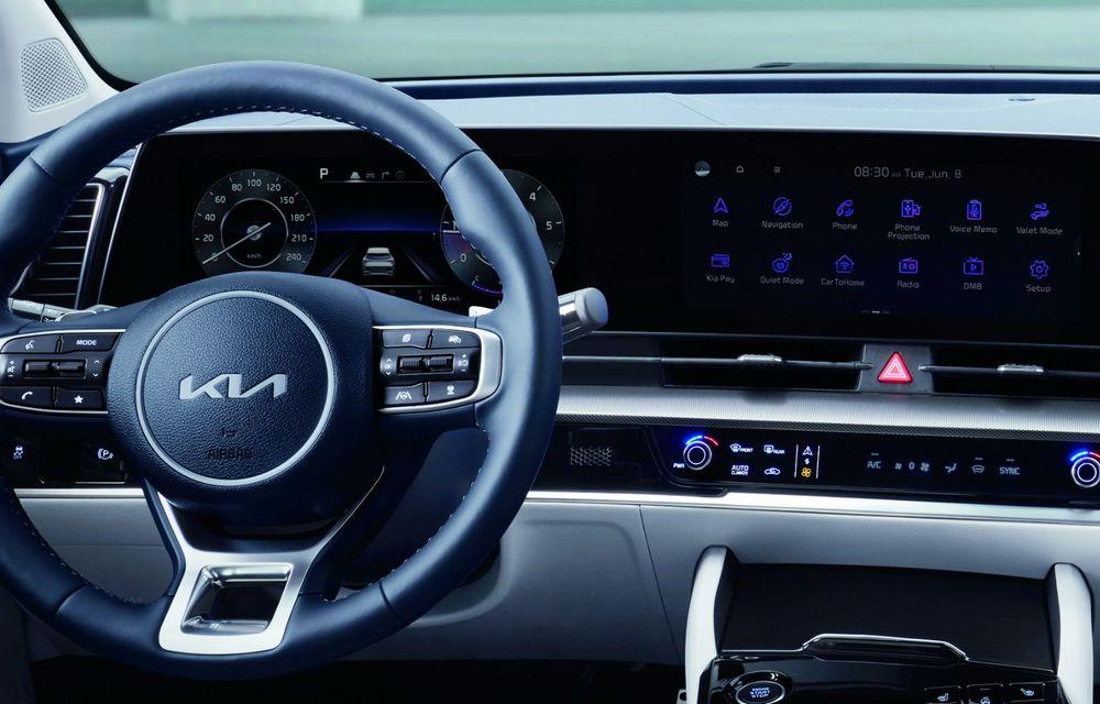 OFICIAL: Noua Kia Sportage debutează cu design exterior îndrăzneț și interior care preia tehnologia lui EV6 - Poza 8
