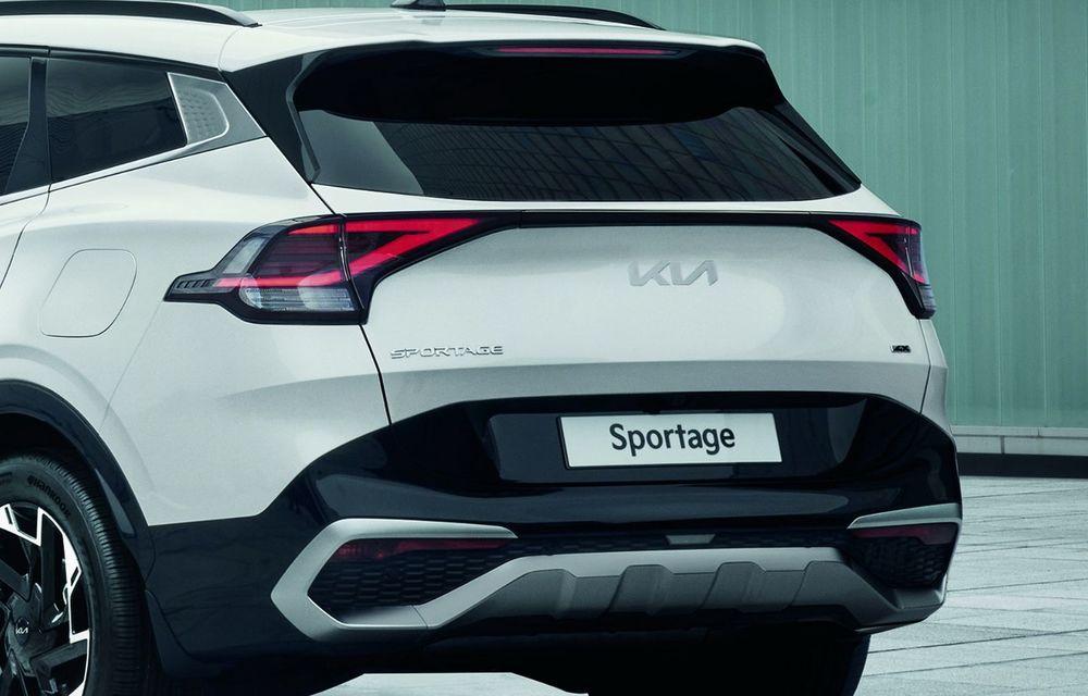 OFICIAL: Noua Kia Sportage debutează cu design exterior îndrăzneț și interior care preia tehnologia lui EV6 - Poza 9