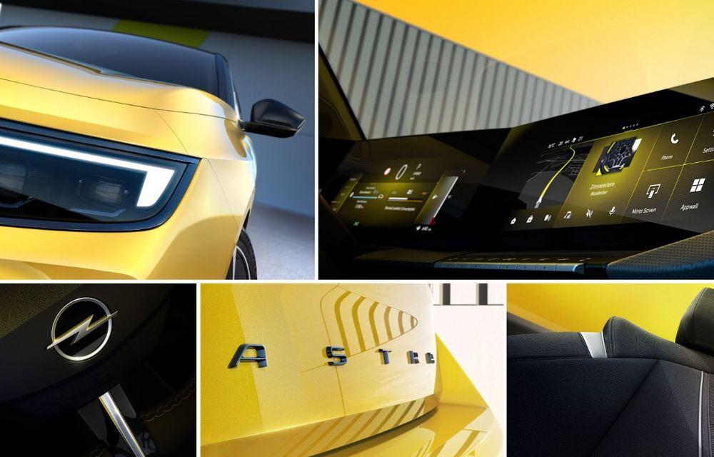 Opel dezvăluie primele imagini cu noua generație Astra - Poza 2