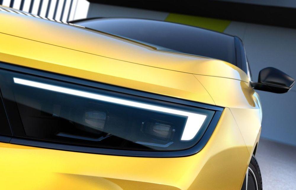 Opel dezvăluie primele imagini cu noua generație Astra - Poza 1