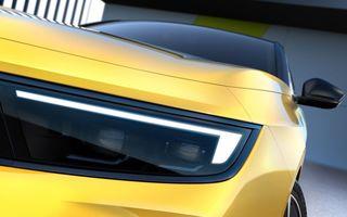 Opel dezvăluie primele imagini cu noua generație Astra