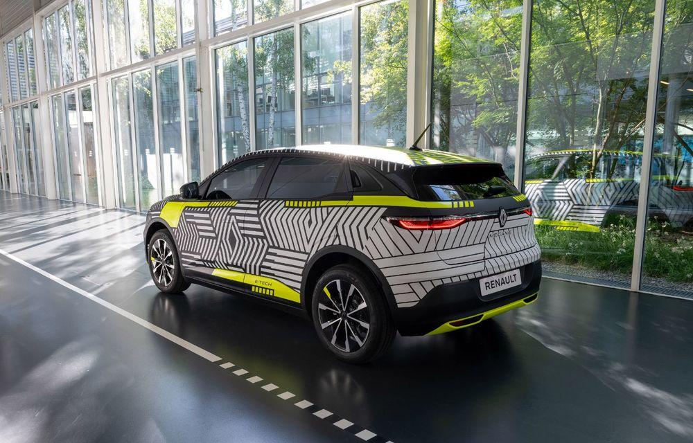 Detalii despre viitorul Renault Megane electric: motor de 217 CP și autonomie de 450 de kilometri - Poza 3