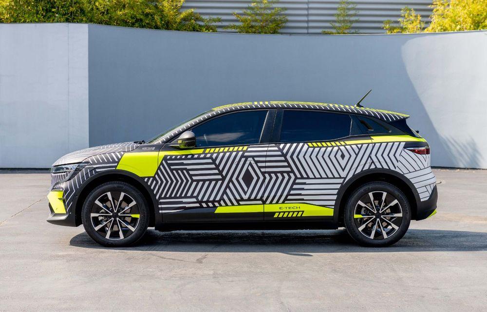 Detalii despre viitorul Renault Megane electric: motor de 217 CP și autonomie de 450 de kilometri - Poza 4