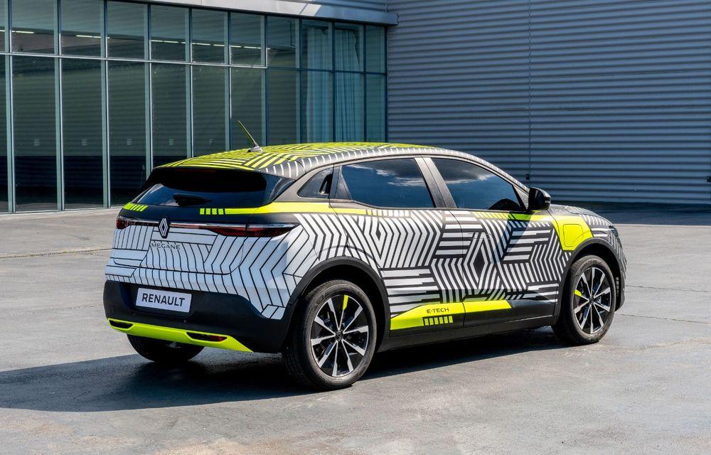 Detalii despre viitorul Renault Megane electric: motor de 217 CP și autonomie de 450 de kilometri - Poza 5