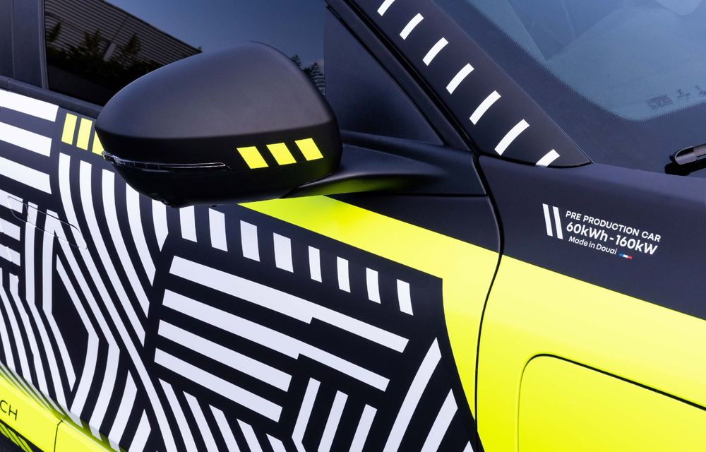 Detalii despre viitorul Renault Megane electric: motor de 217 CP și autonomie de 450 de kilometri - Poza 6