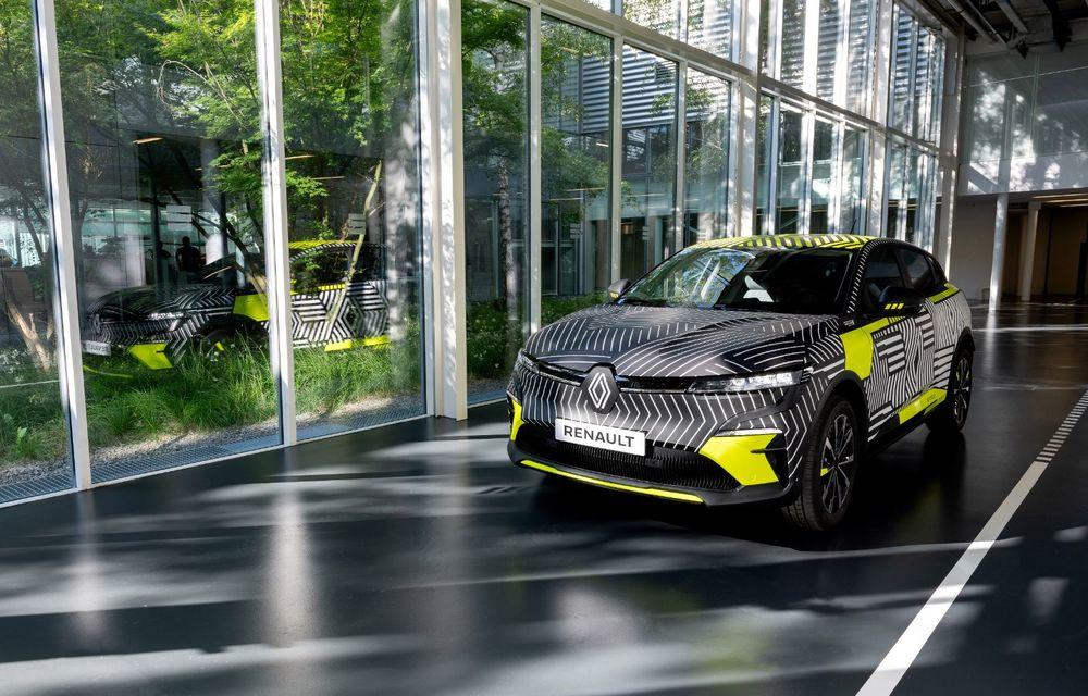 Detalii despre viitorul Renault Megane electric: motor de 217 CP și autonomie de 450 de kilometri - Poza 8