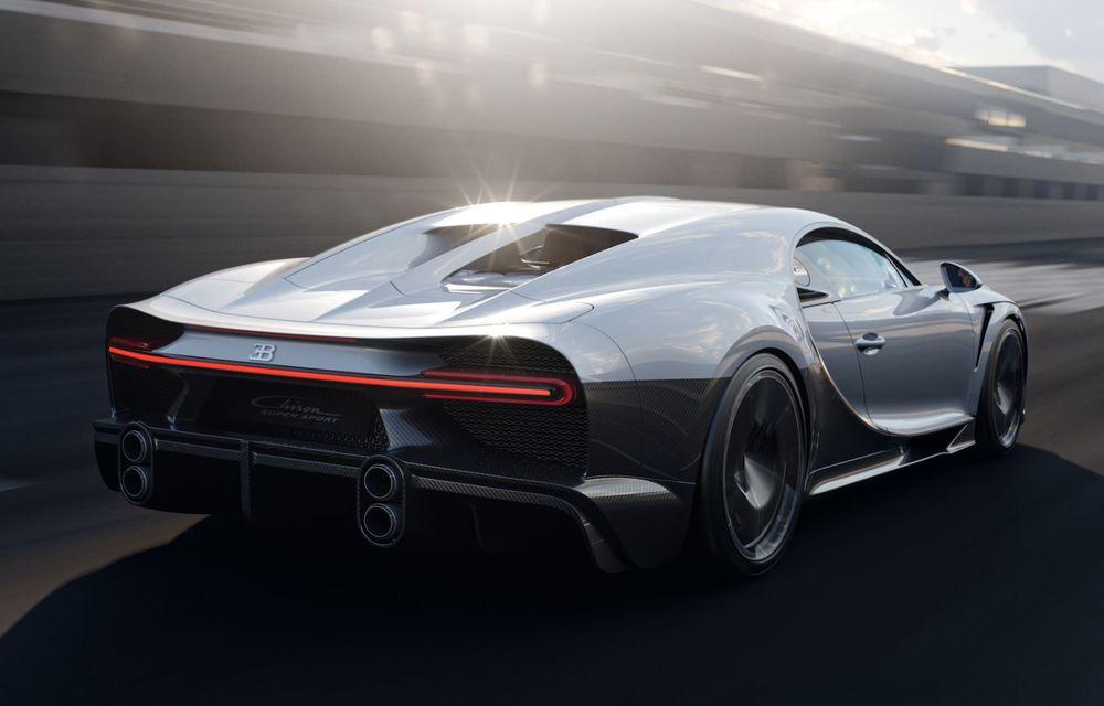 Bugatti Chiron Super Sport: producție limitată la 9 exemplare și 3.2 milioane de euro preț de pornire - Poza 8
