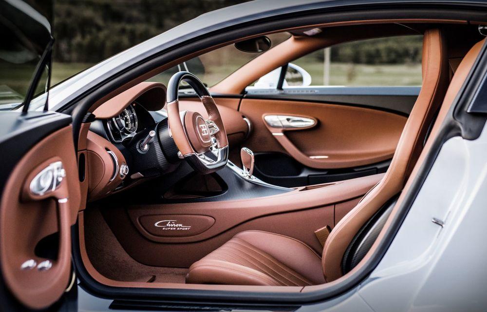 Bugatti Chiron Super Sport: producție limitată la 9 exemplare și 3.2 milioane de euro preț de pornire - Poza 16